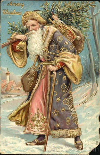 German Santa With Purple Robe X Lb Xxxx