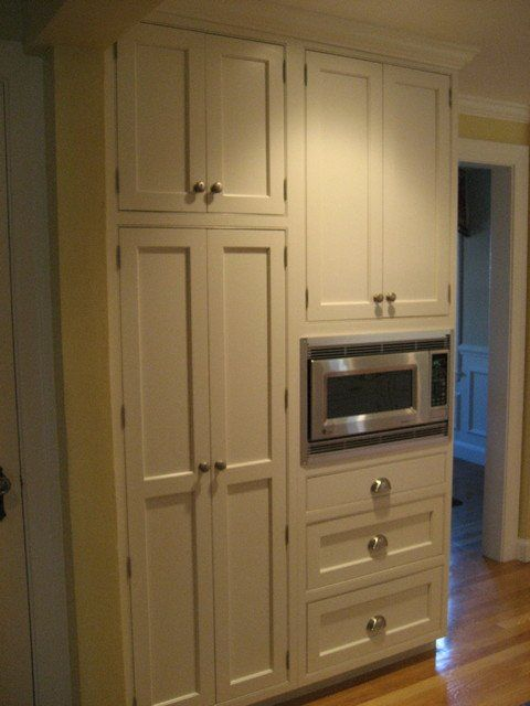 Exceptional Microwave Pantry Cabinet Microwave Pantry Cabinet With ...