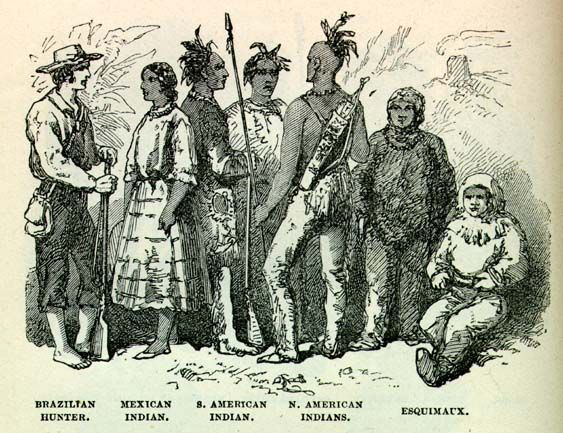The Americans did not treat Indians and Mexicans well ...