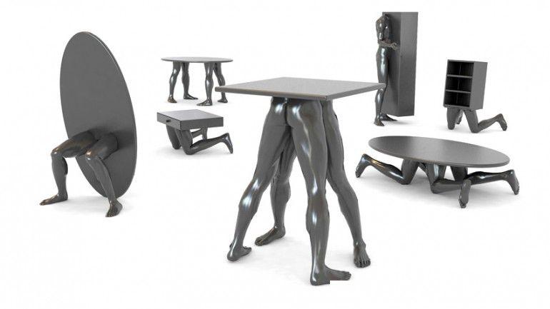 human furniture collectiondzmitry samal | product design
