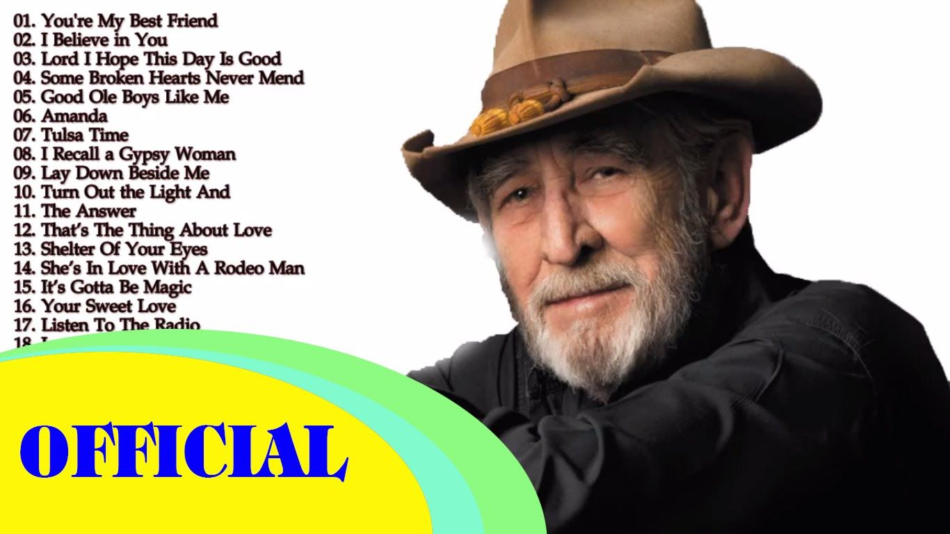 Don Williams Greatest Hits Don Williams Collection With Images
