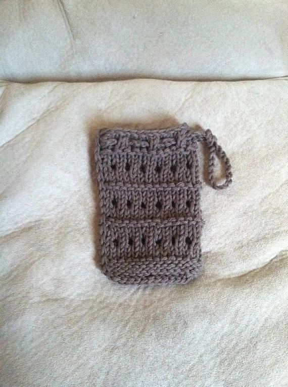 Soap Bag Knitting Pattern Knitting Patterns Patterns And Crochet