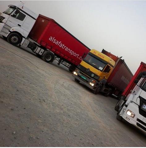 Al Safa Transport provides transportation and trucking