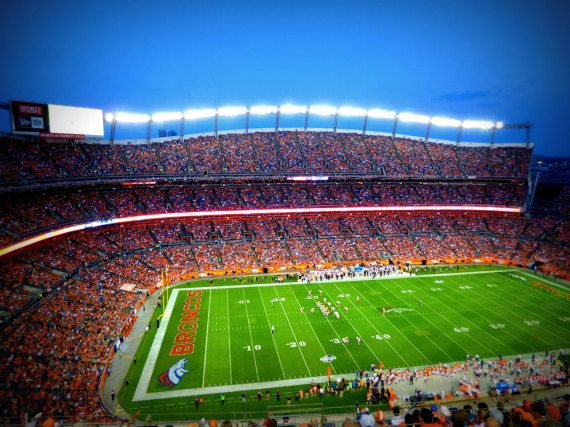 Digital Download Decor Denver Broncos Sports Authority Football Stadium