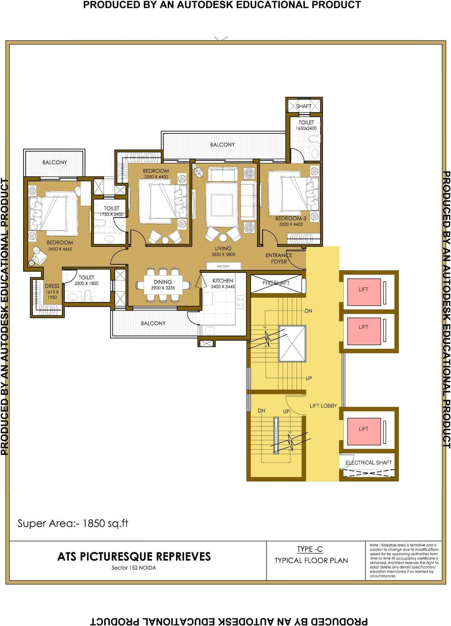 Ats Group 9899303232 Presents Residential Project Picturesque Reprievesin Sector 152 Noida Expressway Offers Bhk Apartments