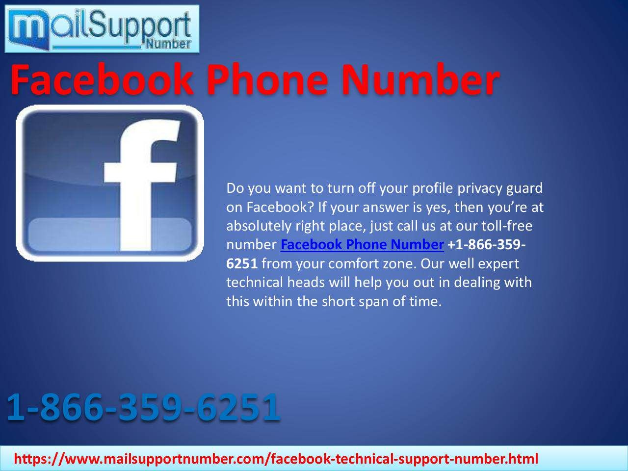 Having Account Setting Glitches? Dial Facebook Phone