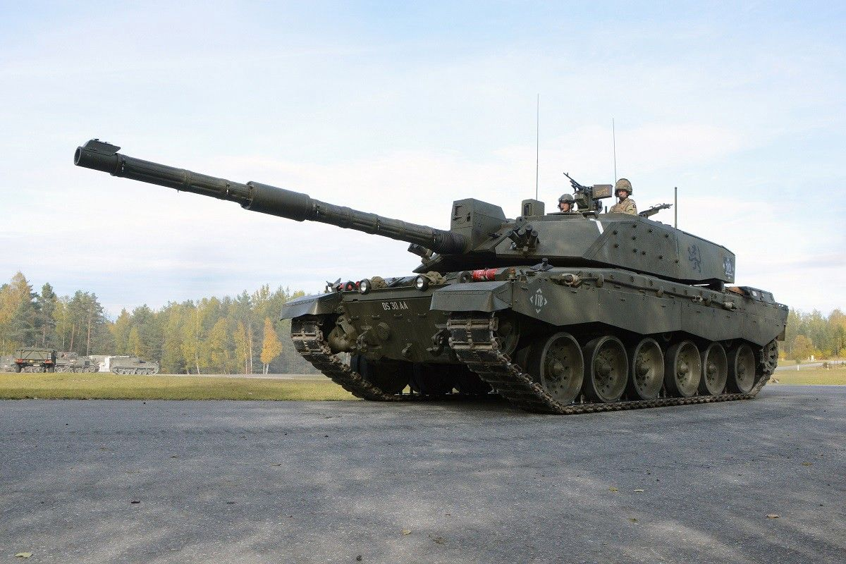 A British Challenger 2 tank in Germany in 2012. U.S. Army photo