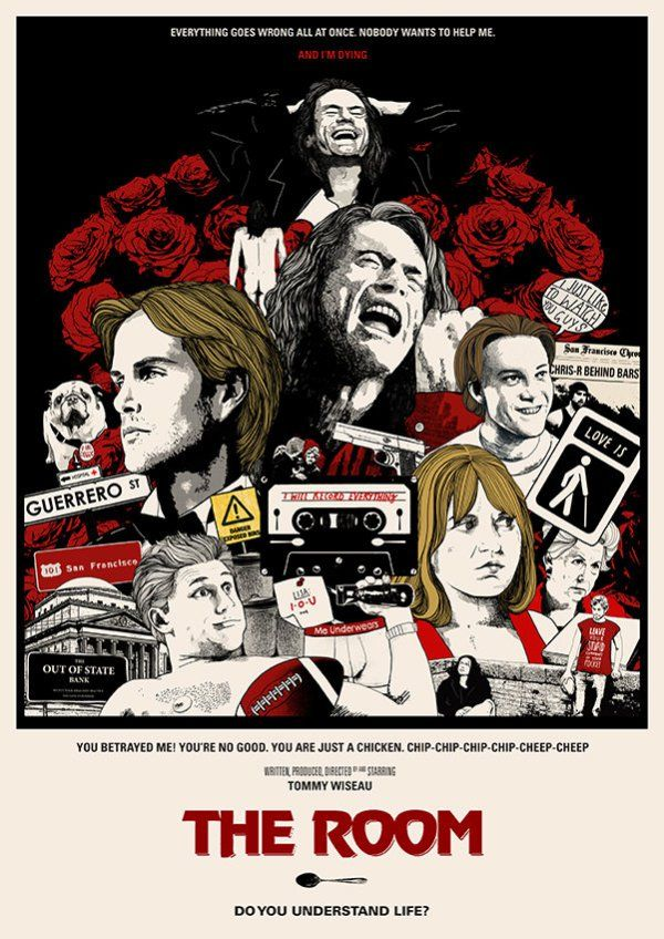 The Room Poster by Peter Strain Movie poster room