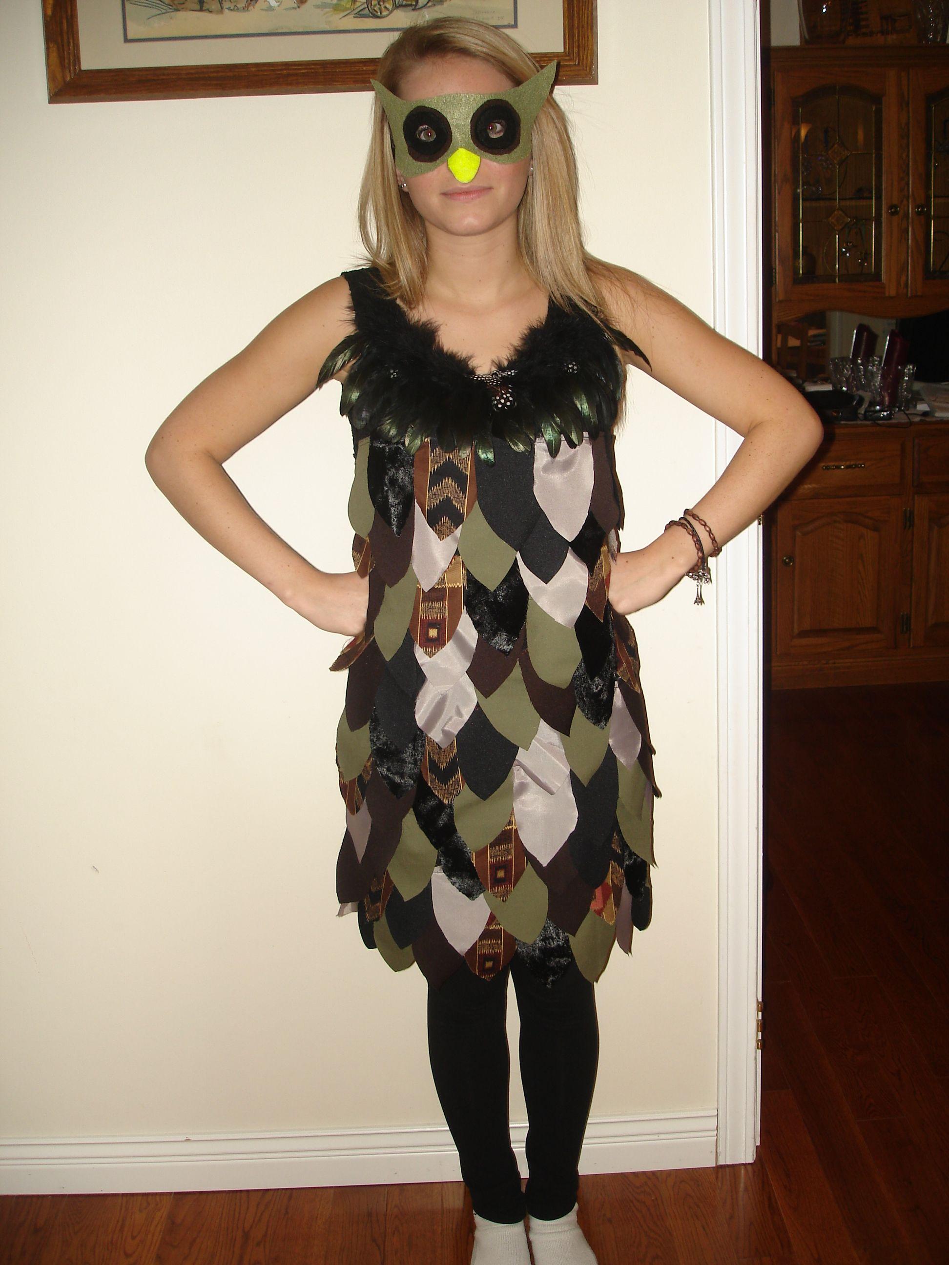 My Adult Version Of The Owl Costume Mit Bildern