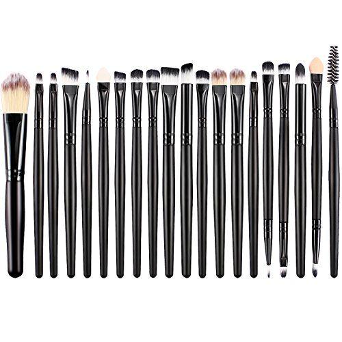 28e2b9bc89 BESTOPE Makeup Brushes 20 Pieces Makeup Brush Set Professional Face  Eyeliner Shadow Blush Cosmetic Brushes Set for Powder Liquid Cream ** Visit  the image ...