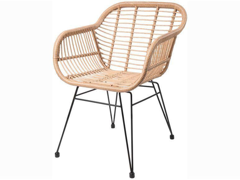 Livarno Living Stuhl Mit Sitzschale In Rattanoptik Hohe