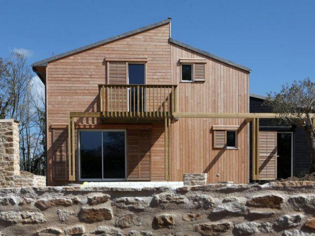Une maison bretonne organique et bioclimatique Architecture and House