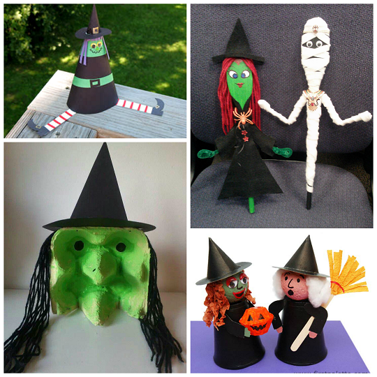 halloween witch kids craft ideaspng 540540 - Halloween Arts And Crafts For Kids Pinterest
