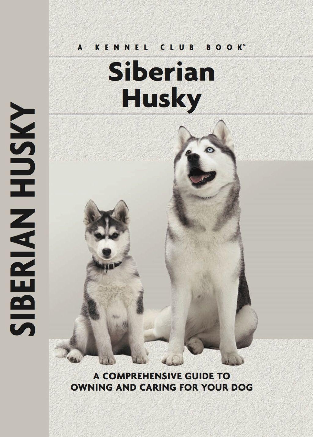Siberian Husky Ebook Siberian Husky Dogs Husky