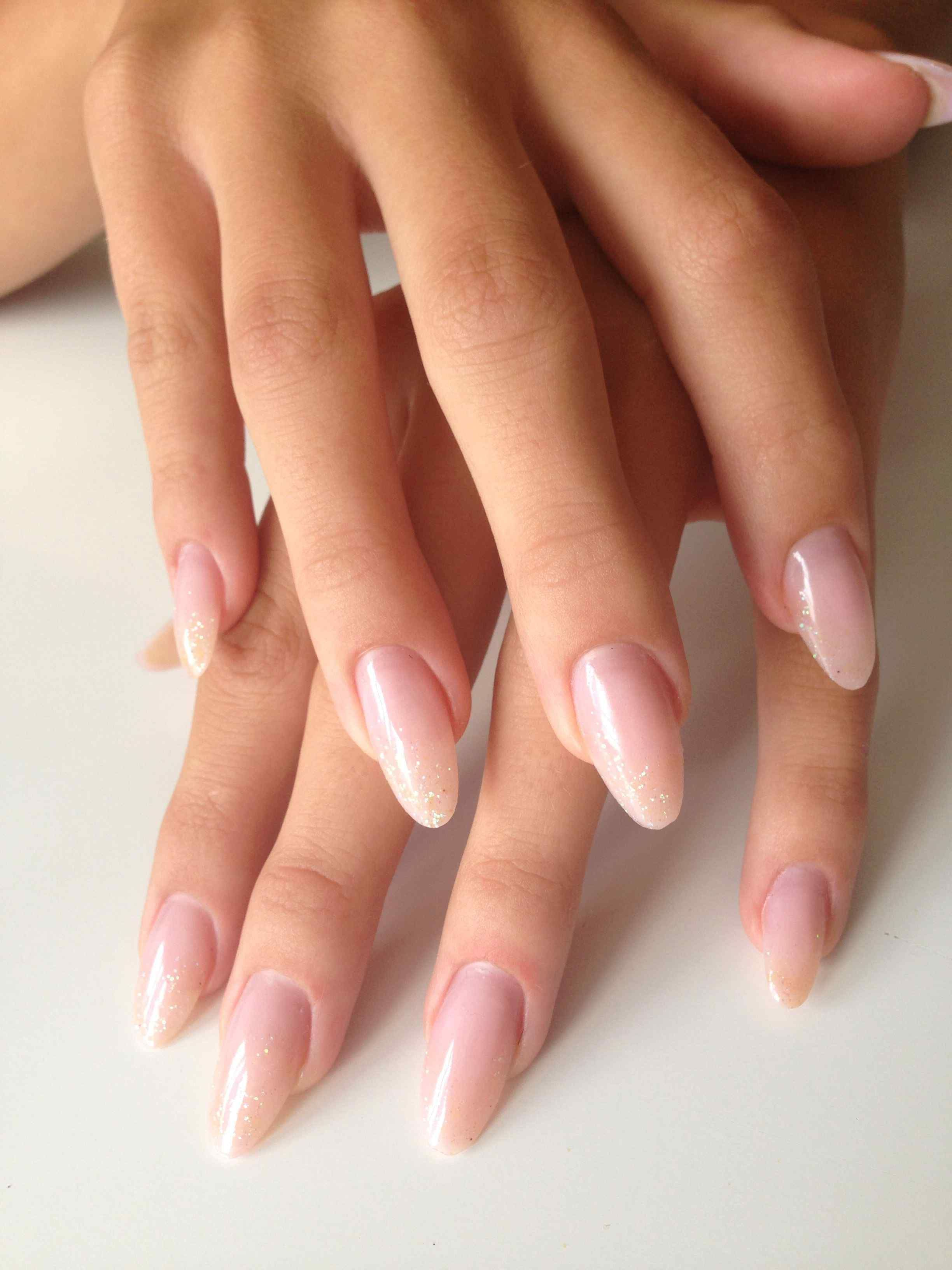 24 New Acrylic Nails No Polish 23 Most Popular Ways To New Nails Acrylic Short Almond Summer 24 New Acrylic N Glitter Nails Acrylic Trendy Nails Oval Nails