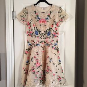 Chicwish Dresses & Skirts - Floral Embroidered Dress