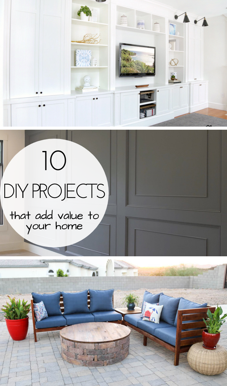 10 Home Improvement Projects To Add Value To Your Home