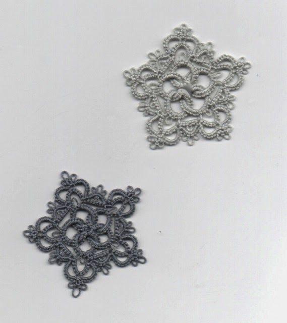 Le Blog de Frivole: Rose & Crown needle tatting free pattern (while ...