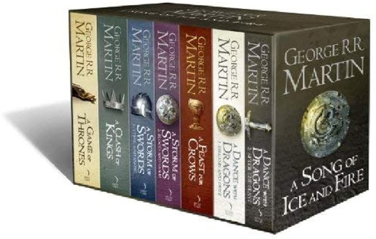 Epub A Song Of Ice And Fire 7 Volumes Author George R R