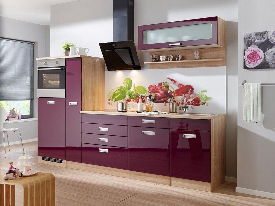 Küchenzeile ohne E-Geräte »Fulda, Breite 270 cm« Fulda - küchenblock 260 cm