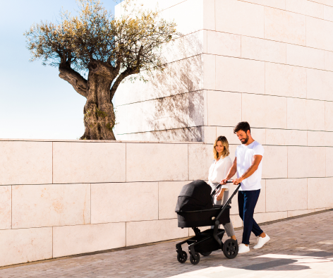 Hello, Urban Beauty! The Joolz Hub Stroller was made with