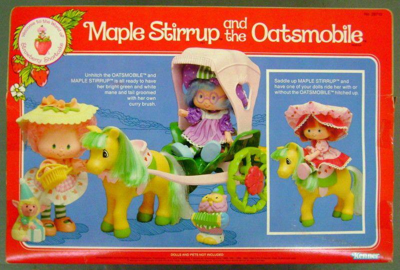 Http Www Ebay Com Itm Vintage Strawberry Shortcake Maple Stirrup And T Dolls Doll Toys