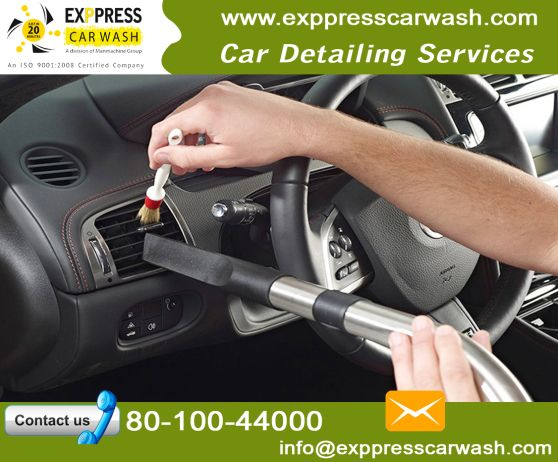 The Available Service Types Of Car Wash Company Car Cleaning