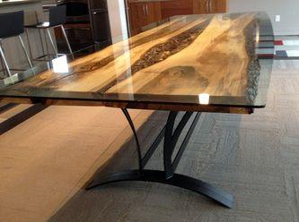 Steel Root Furniture, Modern Wood And Metal Furniture, Slab Furniture,  Natural Furniture,