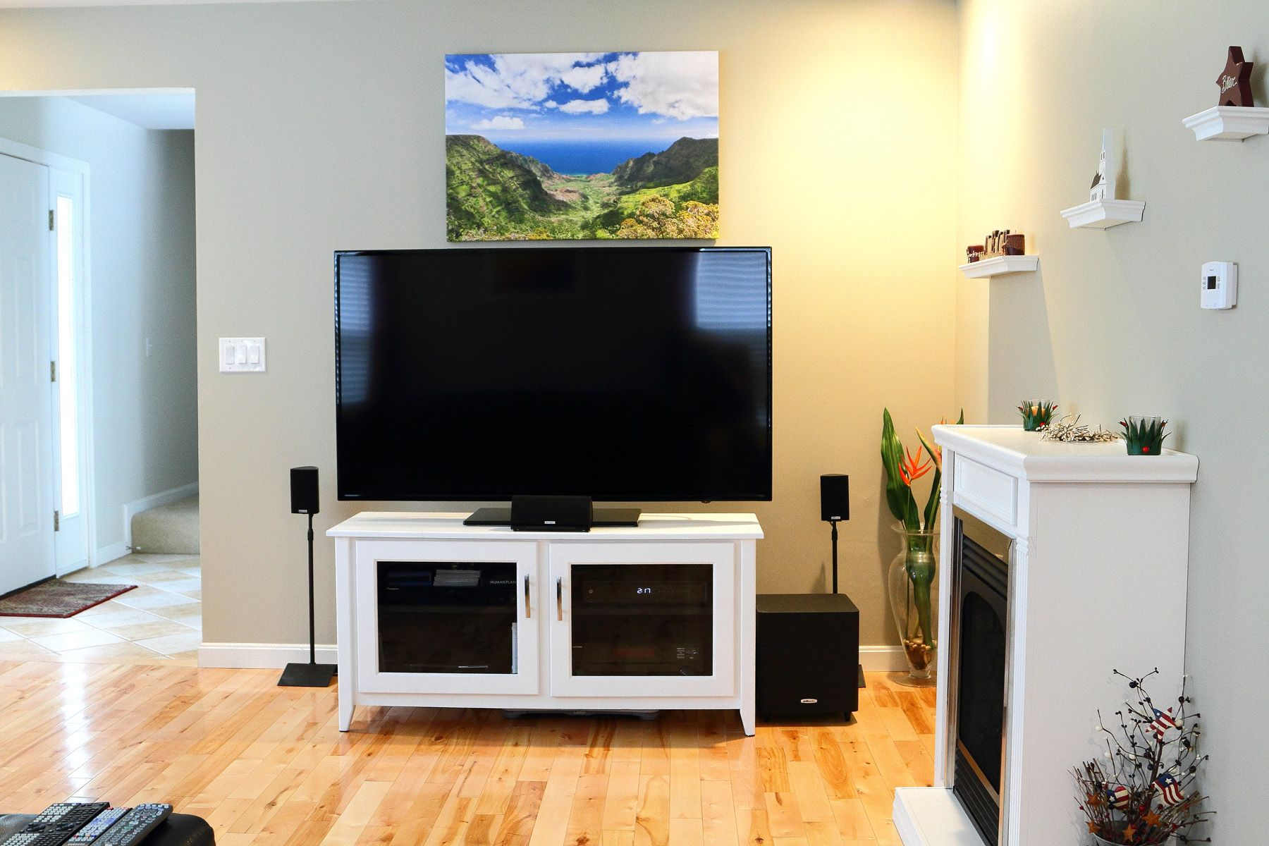 Tv In Living Room get blown awayyour new smarttv. this is one helluva smarthome