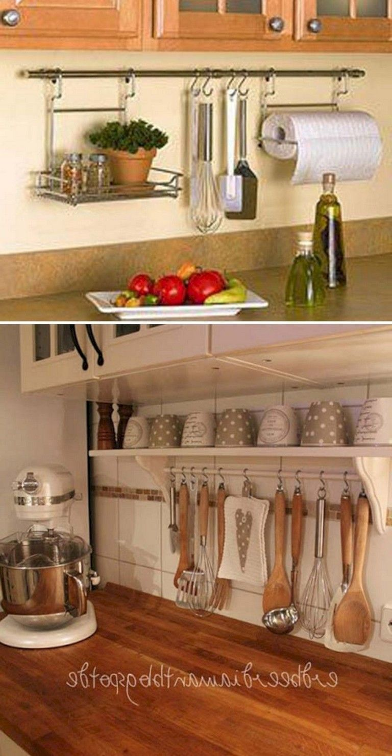 45+ Best Small Kitchen Storage Ideas For Awesome Kitchen Organization #smallkitchenorganization