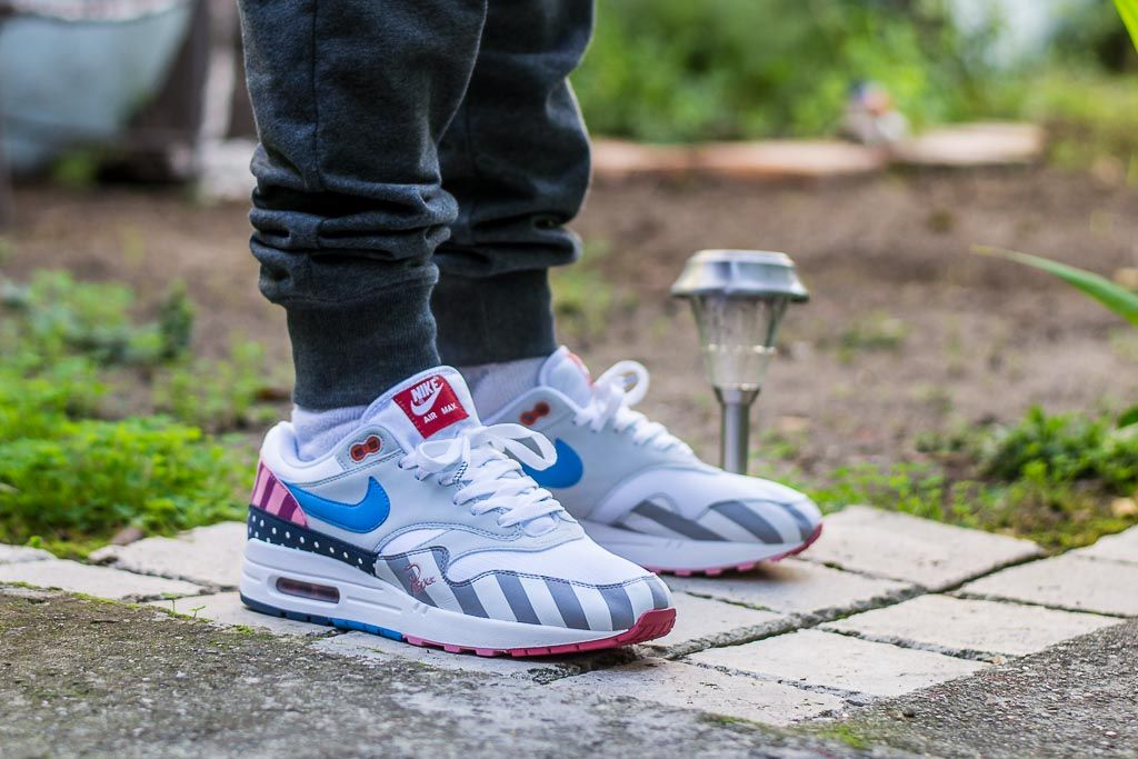 Parra x Nike Air Max 1 On Feet Sneaker Review | Sneakers
