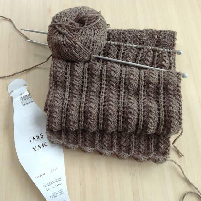 Écharpe bien chaude pour l'hiver (tuto   Tricot et crochet ...