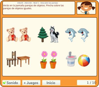 Juego De Las Parejas Gratis Online El Juego De Encontrar Las Parejas Para Primaria Juegos De Pareja Juegos Parejas