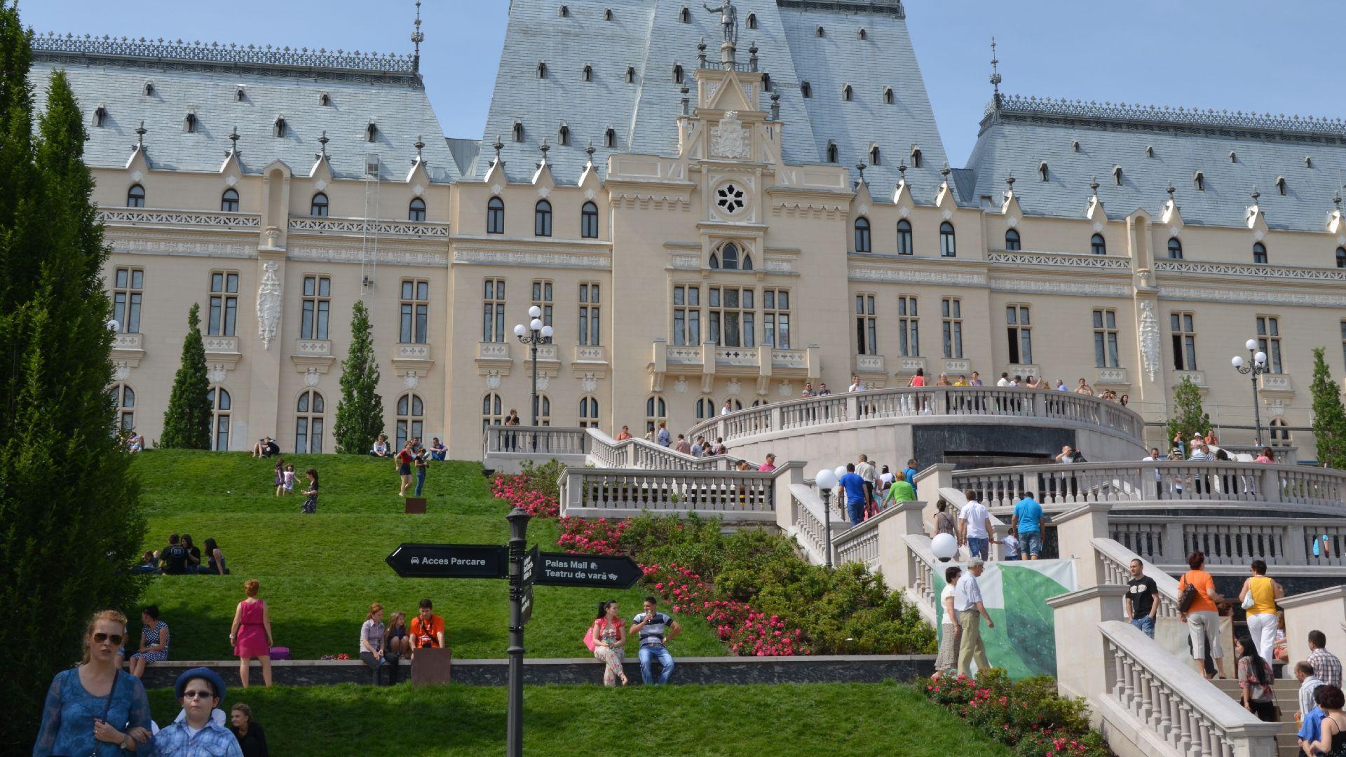 Palatul Culturii, Iasi Castele, Palat, Cultură