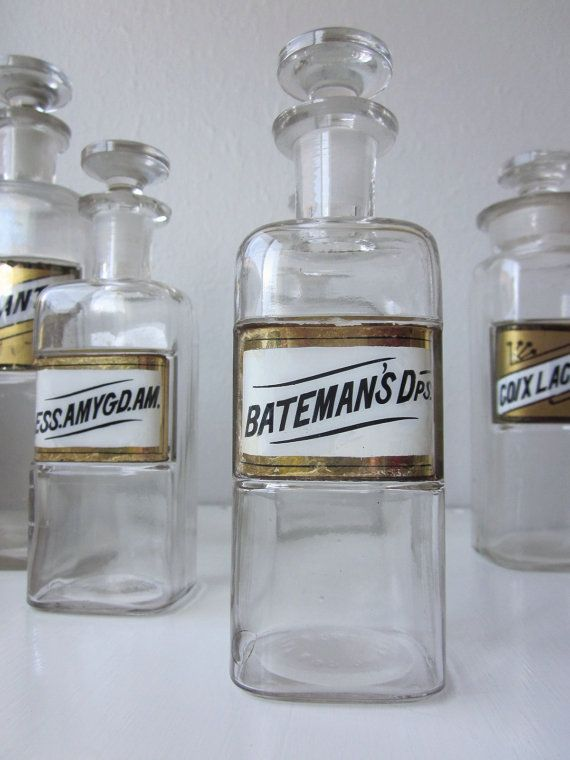 Apothecary Jars With Images