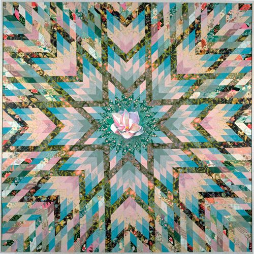 quilt with magnolia - Google Search