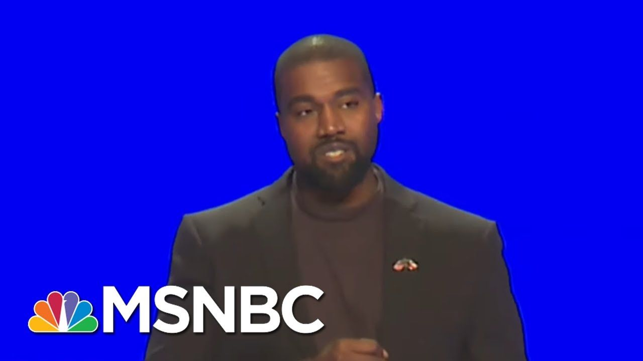 How The Gop Is Trying To Use Kanye West All In Msnbc Youtube In 2020 Gop Kanye West Kanye