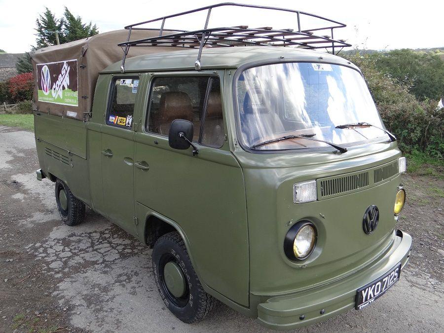 ac5742de79 VW Baywindow Double Cab Pick-up FOR SALE