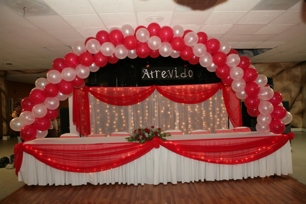 Decoracion de globos quincea era proyectos que debo for Decoracion quinceanera