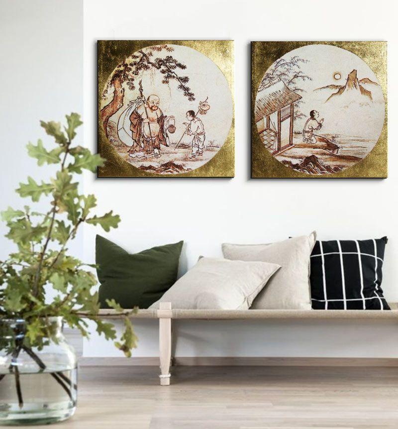 Cuadros chinos japoneses cuadros zen perfectos para - Cuadros para decorar salones ...