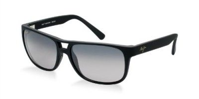1fabba2fe0339 Óculos Maui Jim Waterways Sungasses-GS267-02MR Black Rubber (Neutral Gray  Lens)