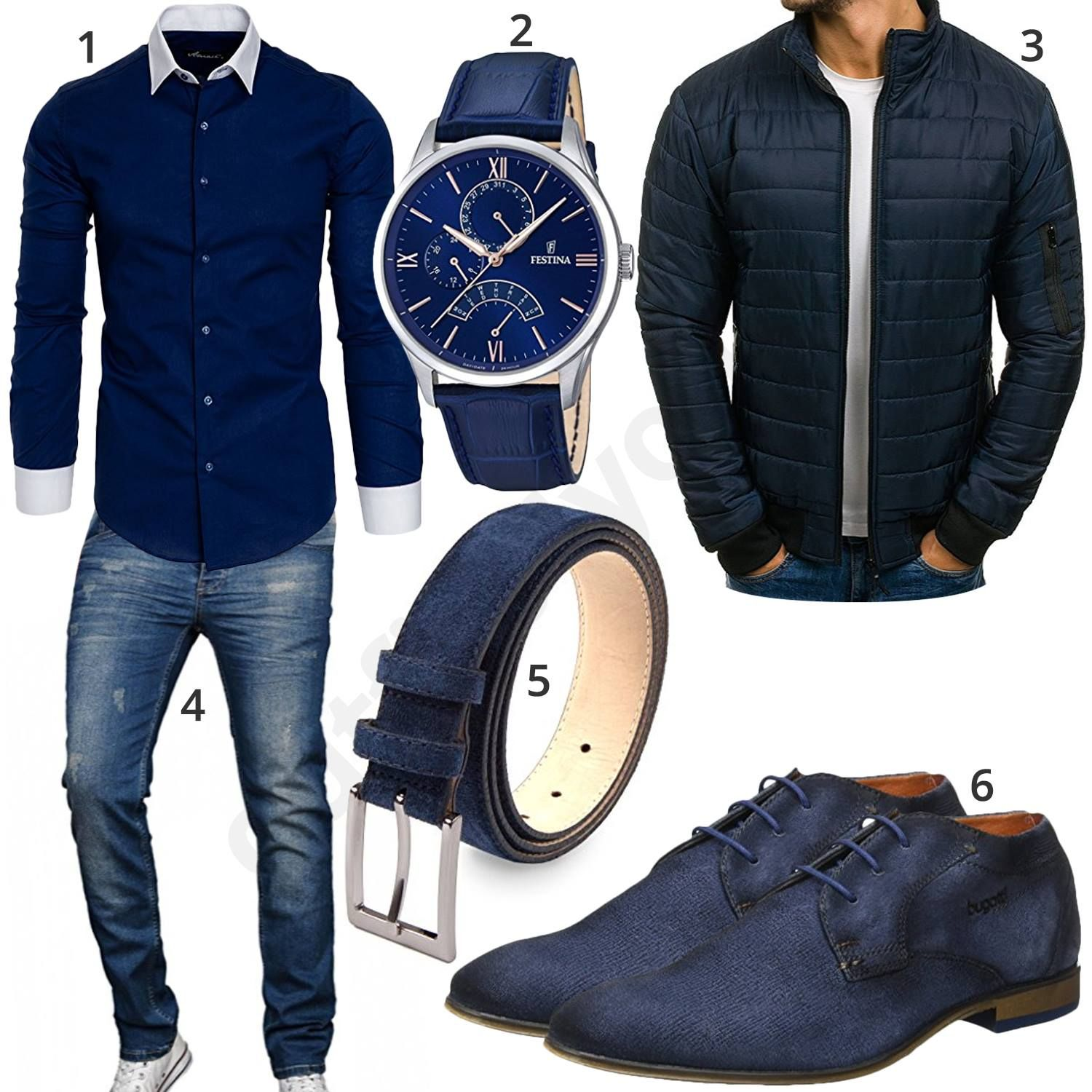 dunkelblaues business outfit mit hemd jeans und uhr pinterest business outfit m nner mode. Black Bedroom Furniture Sets. Home Design Ideas