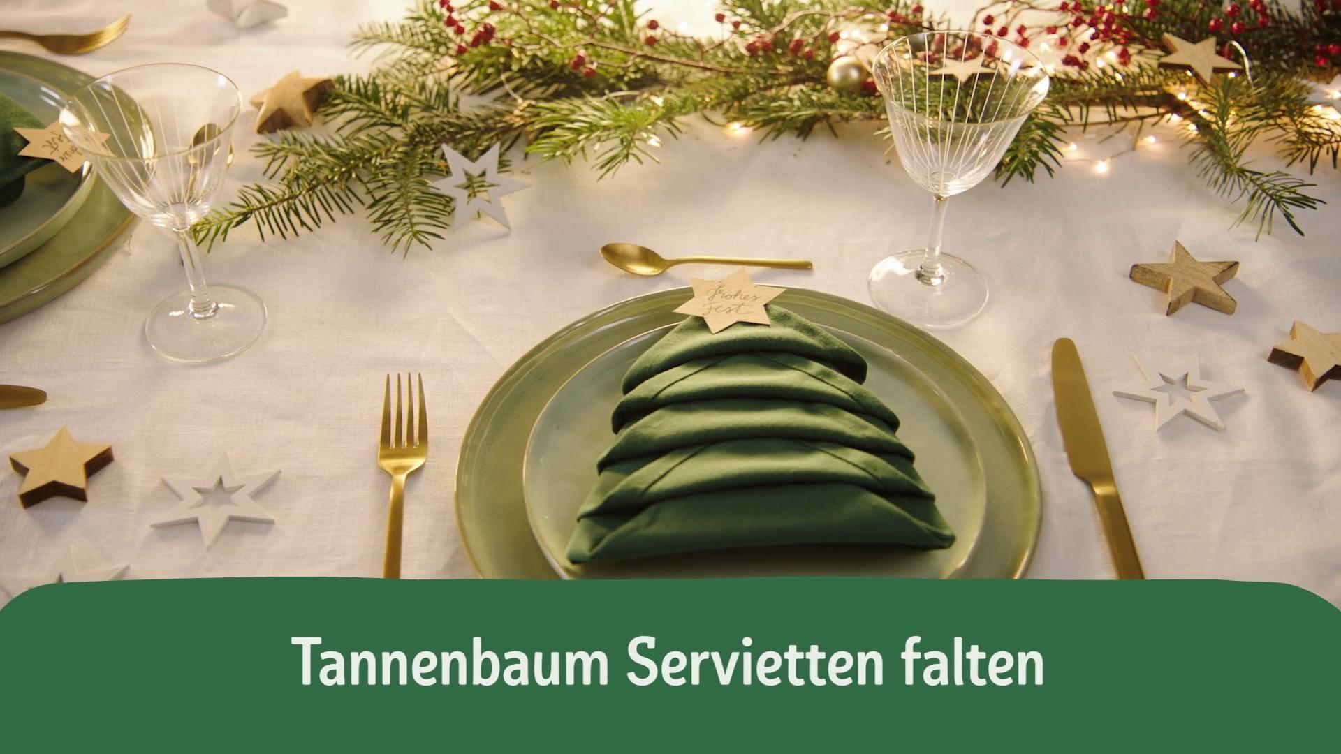 Photo of DIY Christmas tree napkins