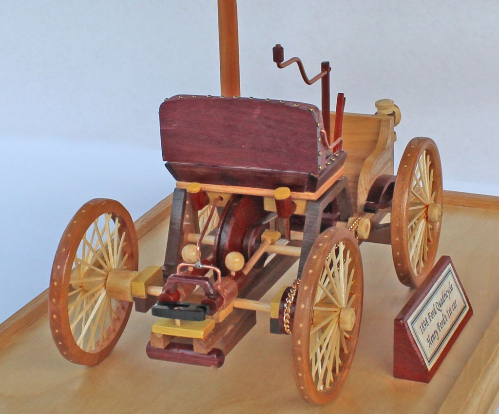 1896 Ford Quadricycle Woodworking Plan Wood Toys Plans