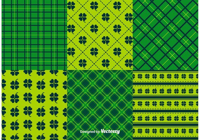 St. Patrick's Day Pattern Vectors 129504 -  Set of St.Patrick's Day Backgrounds and Patterns  - https://www.welovesolo.com/st-patricks-day-pattern-vectors-2/?utm_source=PN&utm_medium=weloveso80%40gmail.com&utm_campaign=SNAP%2Bfrom%2BWeLoveSoLo