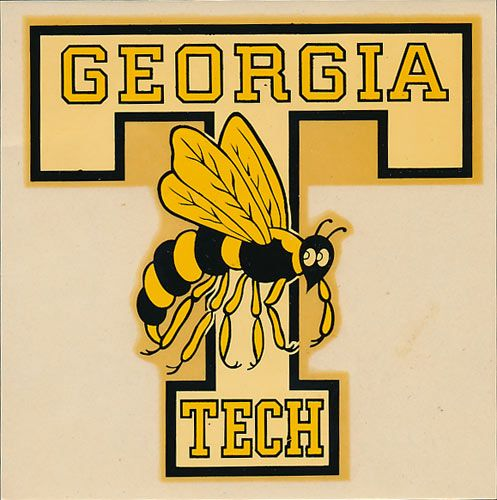 Georgia Institute Of Technology Georgia Tech Yellow Jackets Decal