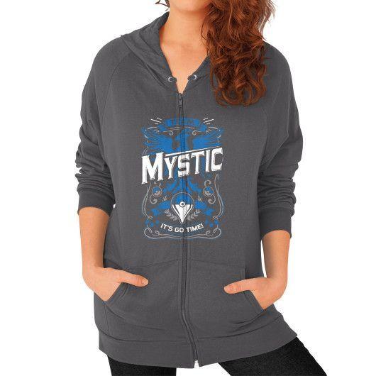 It's Go Time Team Mystic Zip Hoodie (on woman)