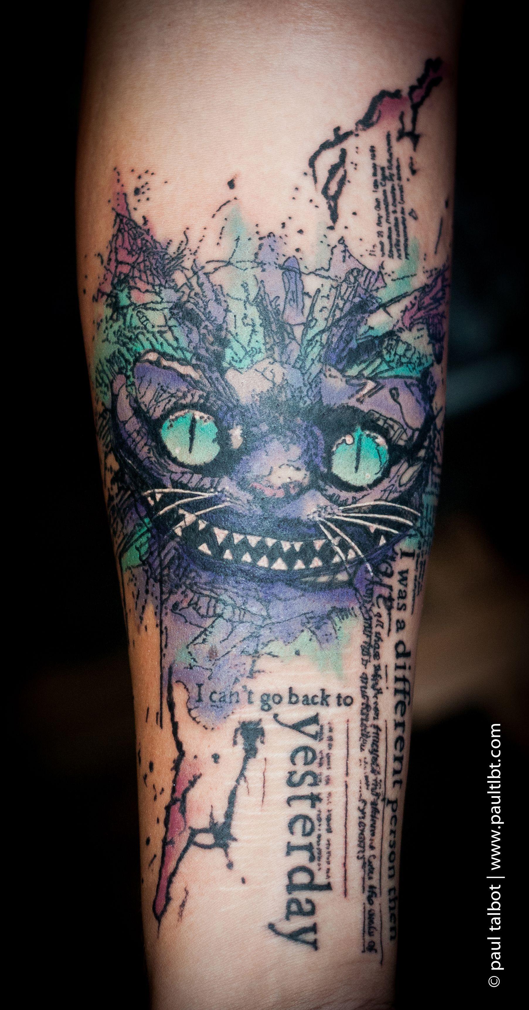 76f02e2fbd8cc cat trash polka - Google Search … | Body Art | Tatto…