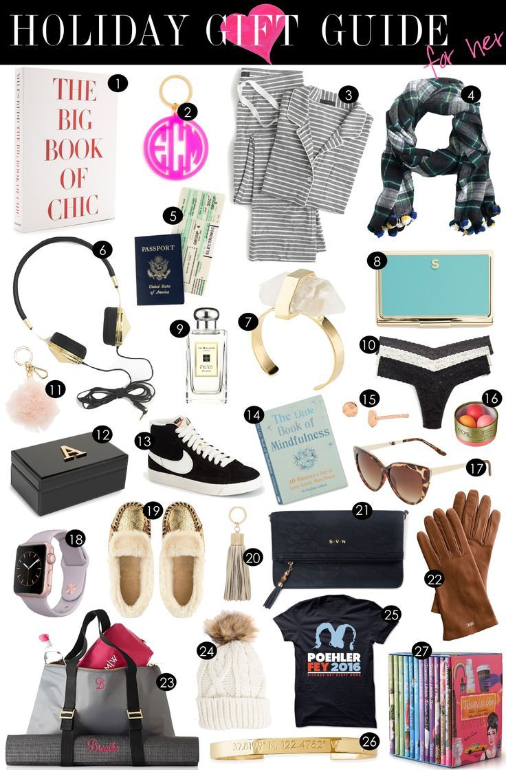 Holiday Gift Guide for Her | Kiki\'s List | Christmas gift ideas ...