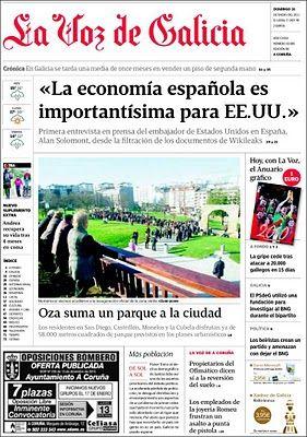 La Buena Prensa La Voz De Galicia Apuesta Por El Periodismo La Voz Trabaja En Silencio Periodismo